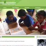 Garala Foundation uses Apptivo powered website to raise money for opening childrens libraries in India