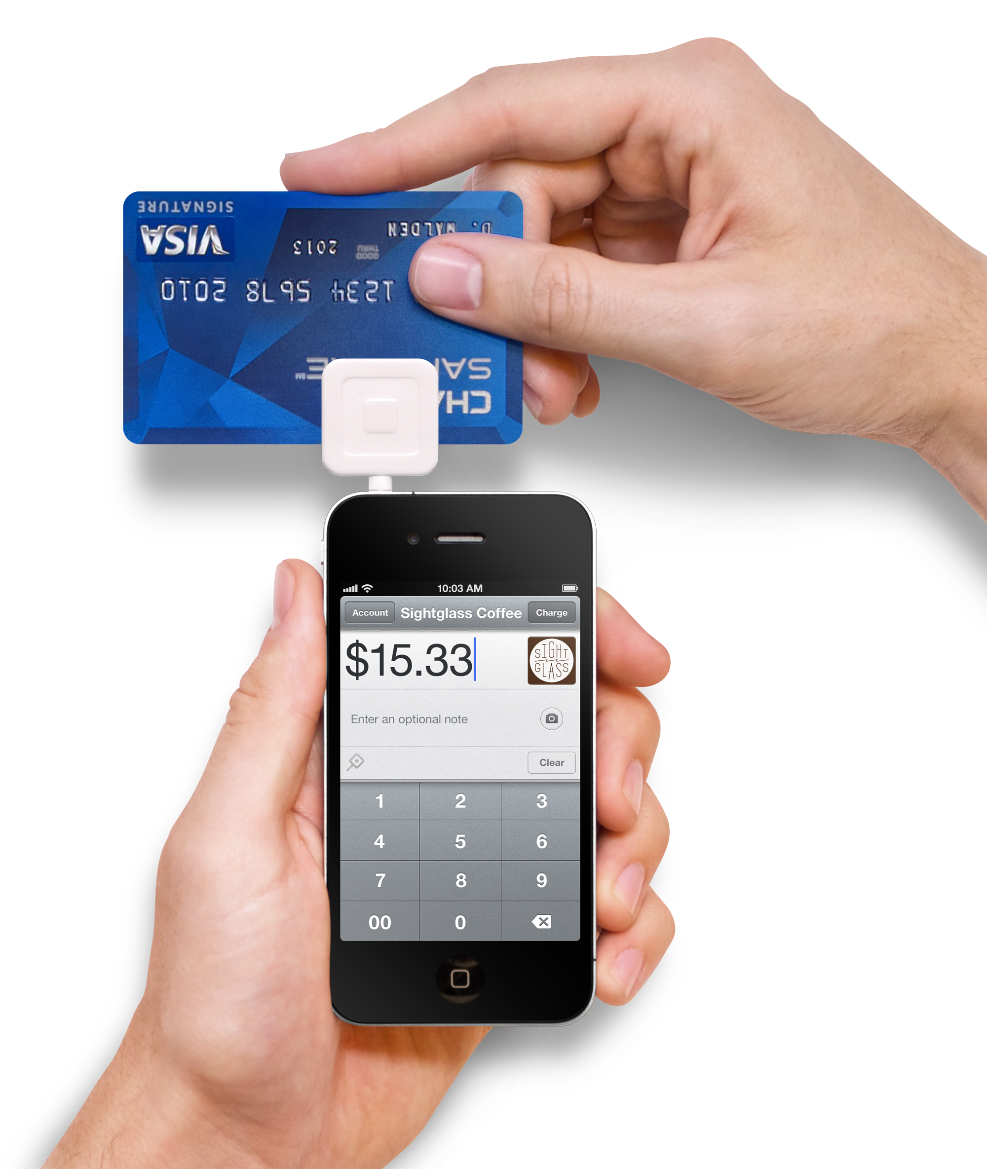 A new way to accept credit cards