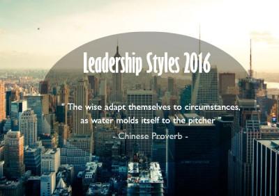 leadership styles 2016