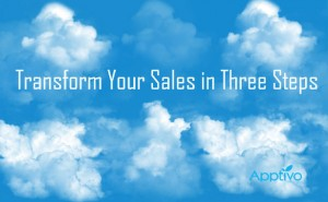 transform your sales in three steps