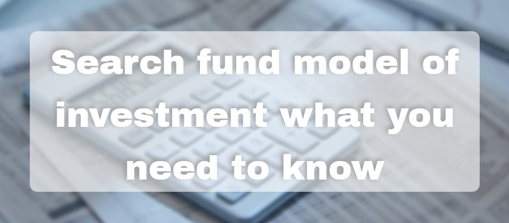 search-fund